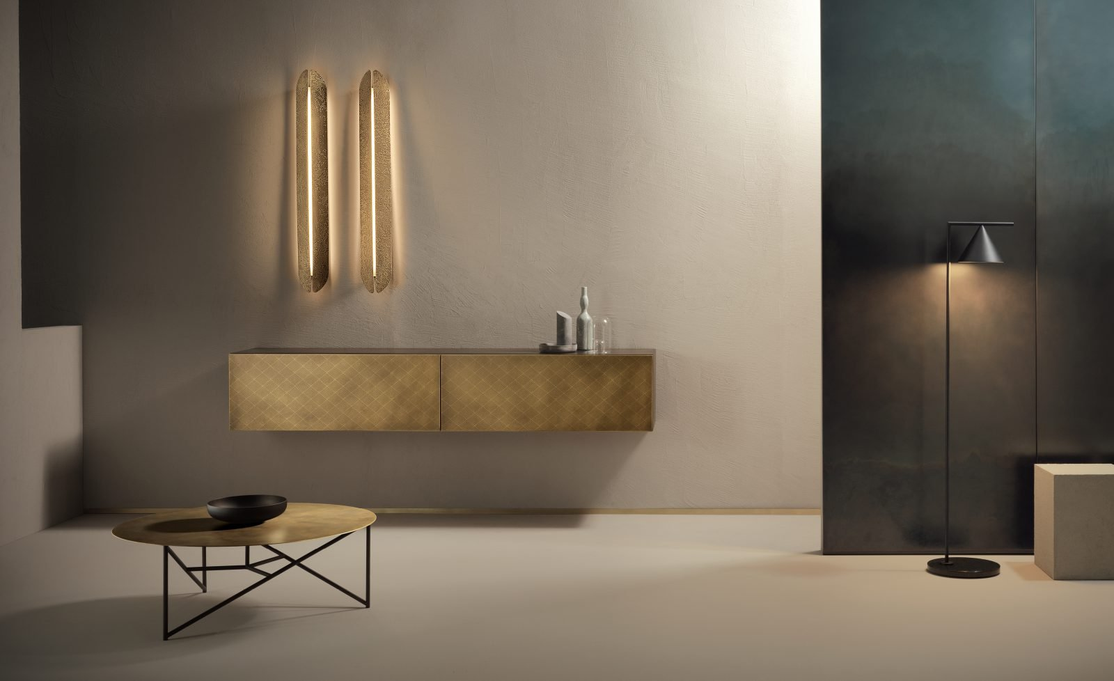 Aare Wall Lamp lighting from De Castelli, designed by Alexander Purcell Rodrigues