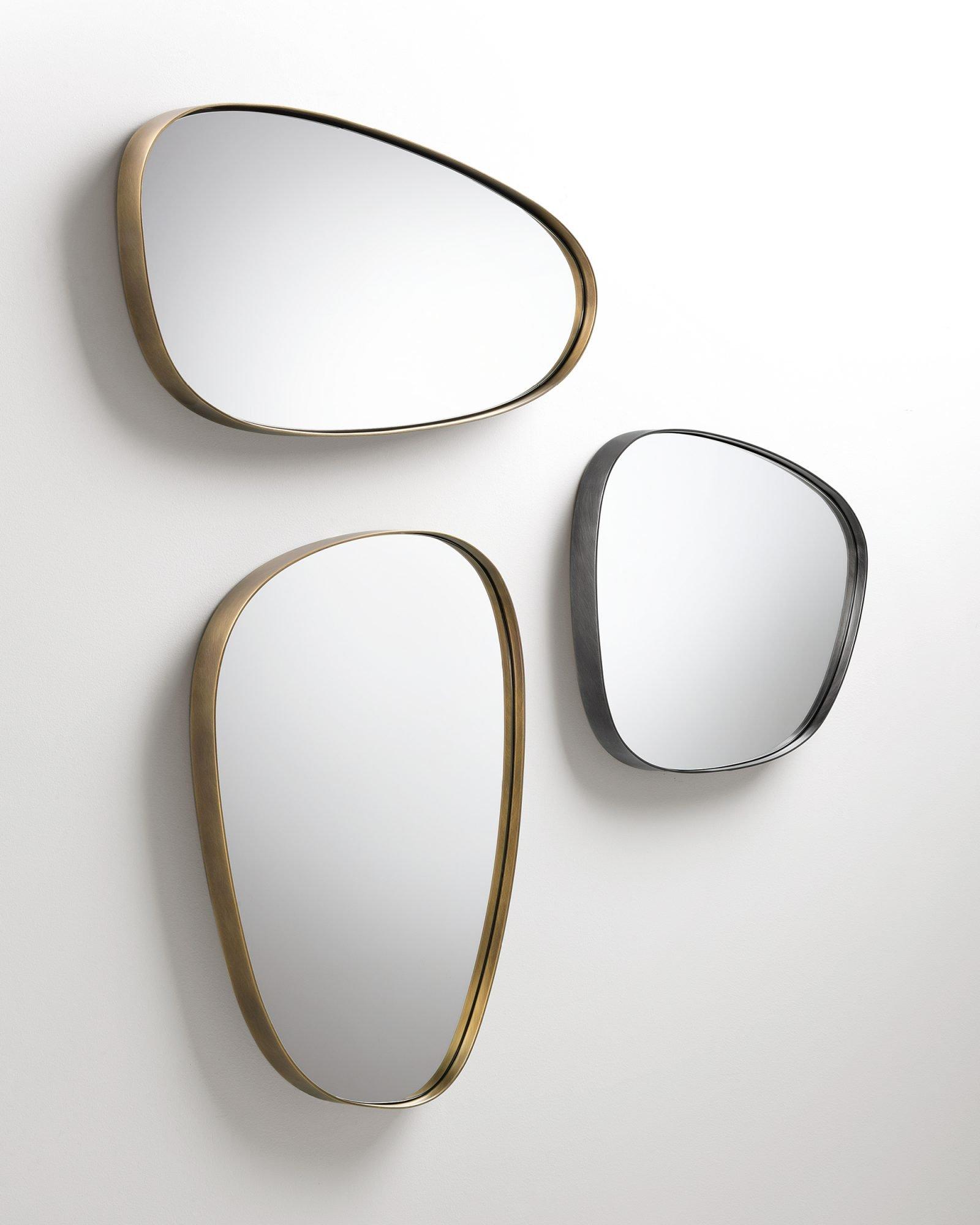 Syro Mirror from De Castelli, designed by Emilio Nanni