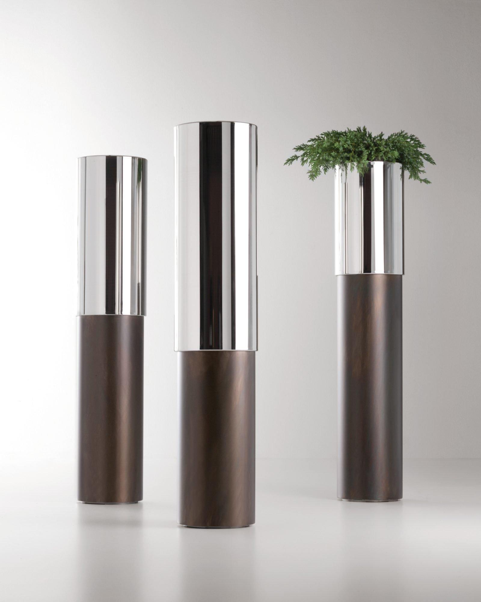 Phil Pot planter from De Castelli, designed by Johannes Klein