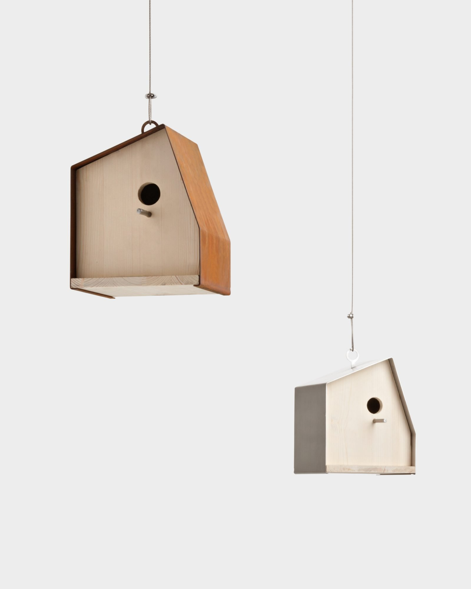 Nest House N.1 Birdhouse  from De Castelli, designed by Filippo Pisan