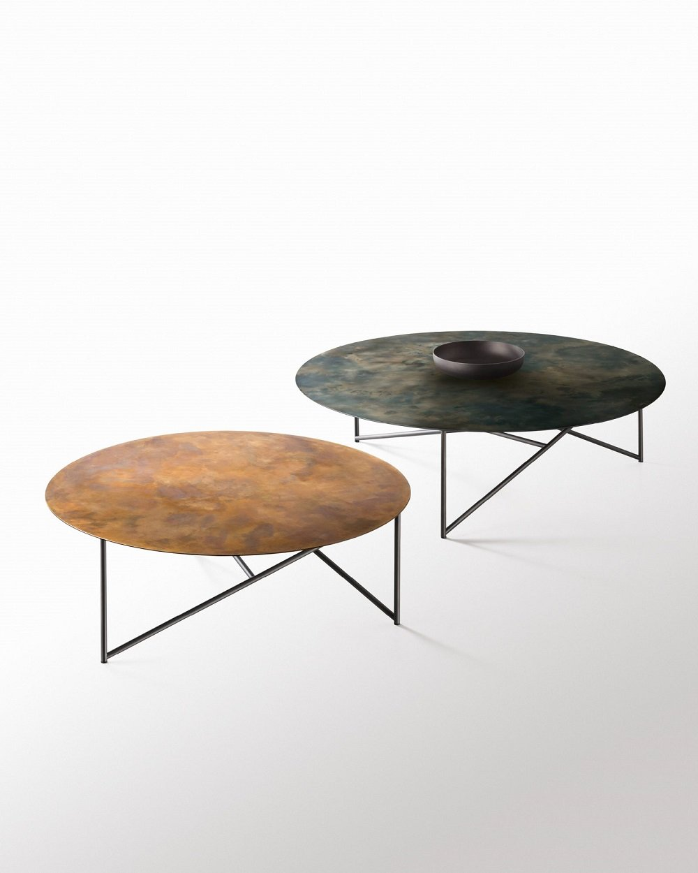 Parsec Coffee Table from De Castelli, designed by Emilio Nanni