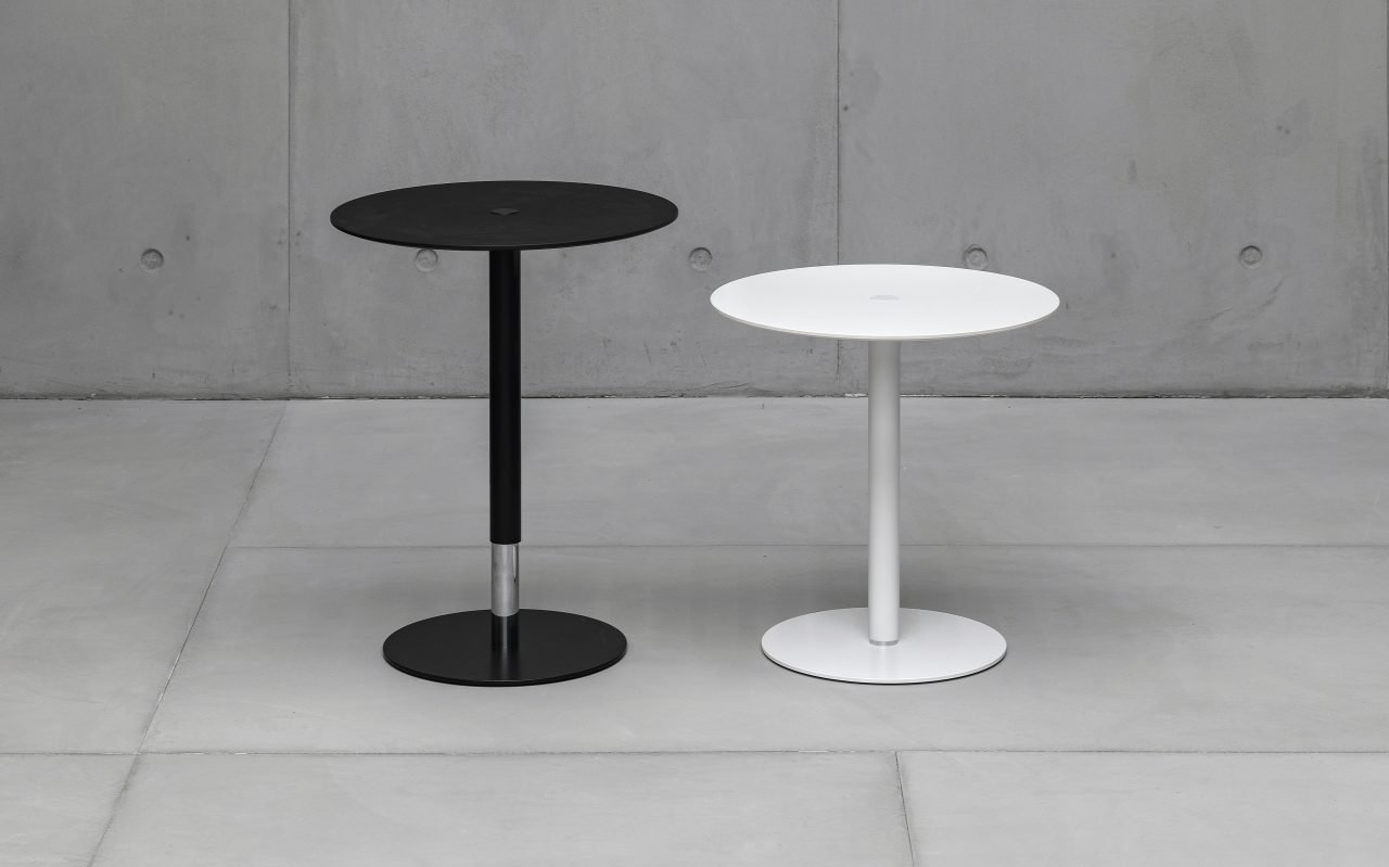 PTB Table coffee from Kristalia, designed by Lucidipevere