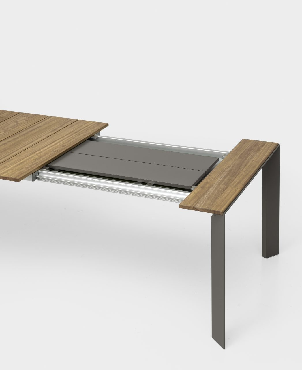 Nori Slatted Table dining from Kristalia, designed by Bartoli Design