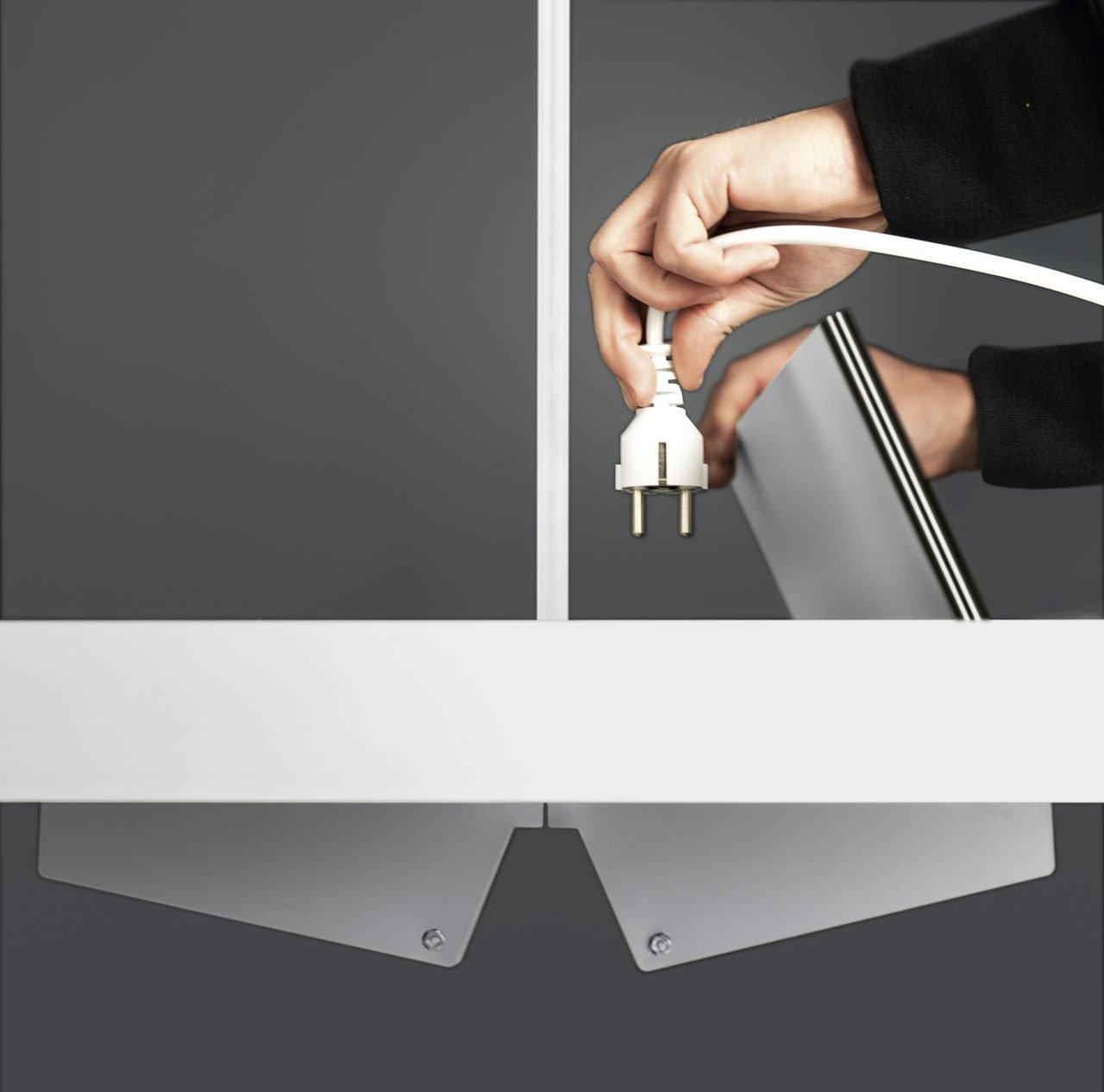 Sushi Workstation conference table from Kristalia, designed by Bartoli Design