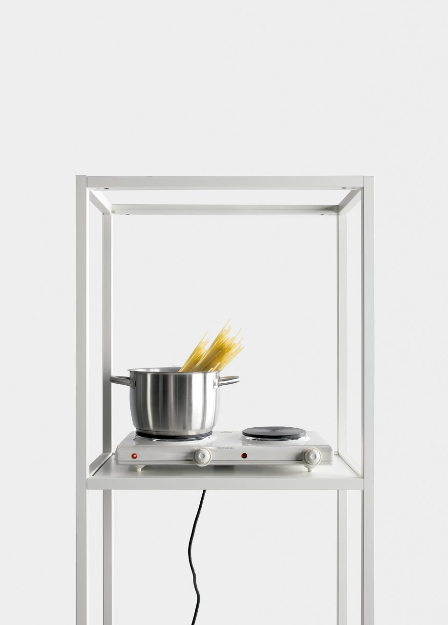 Regoli Shelves bookcase from Kristalia, designed by Bluezone