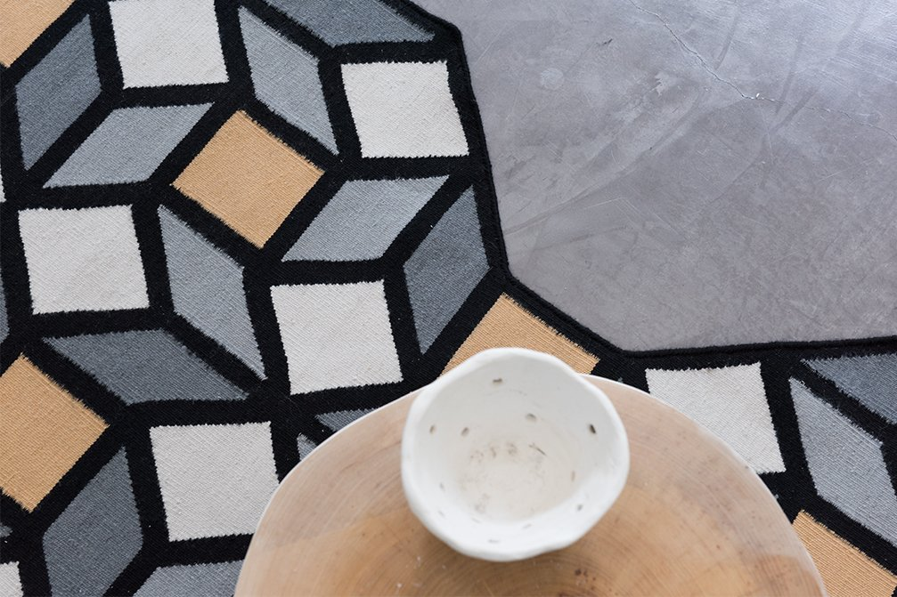 Parquet Rhomb Rugs from Gan Rugs, designed by FRONT