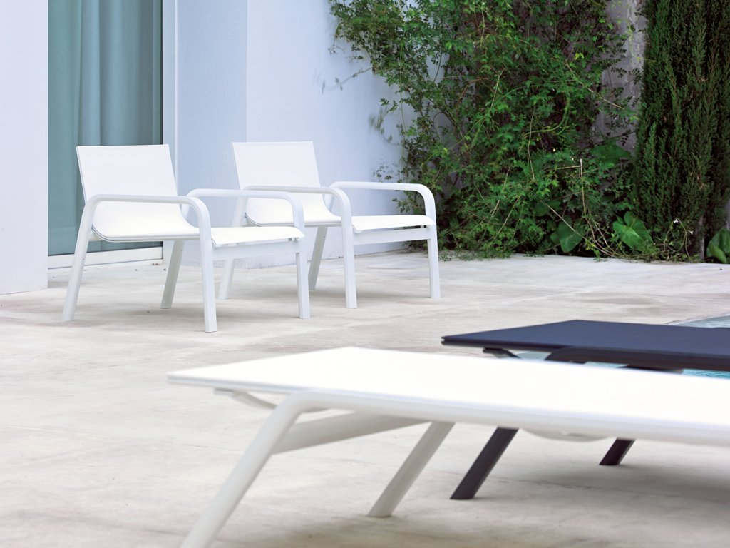 Stack Lounge Chair from Gandia Blasco, designed by Borja Garcia