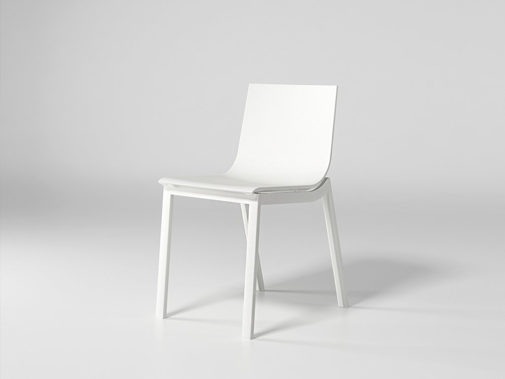 Stack Dining Chair Model 4 from Gandia Blasco, designed by Borja Garcia