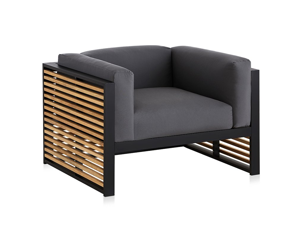 DNA Teak Lounge Chair from Gandia Blasco, designed by Jose Gandía-Blasco Canales