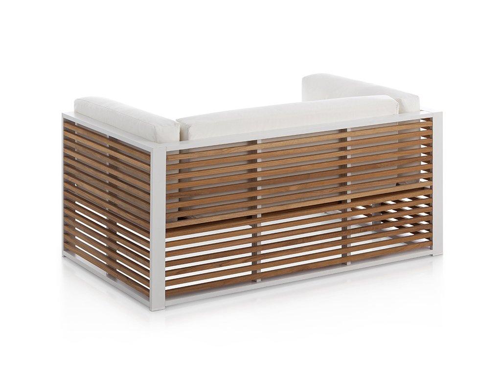DNA Teak Sofa from Gandia Blasco, designed by Jose Gandía-Blasco Canales
