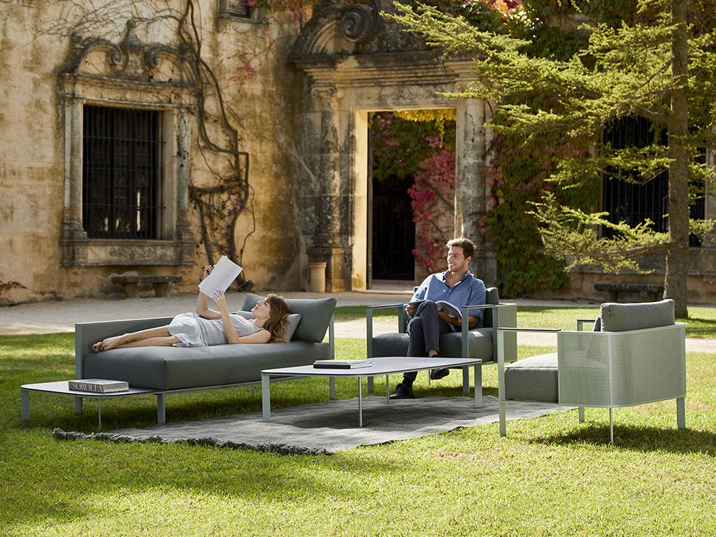 Solanas Lounge Chair from Gandia Blasco