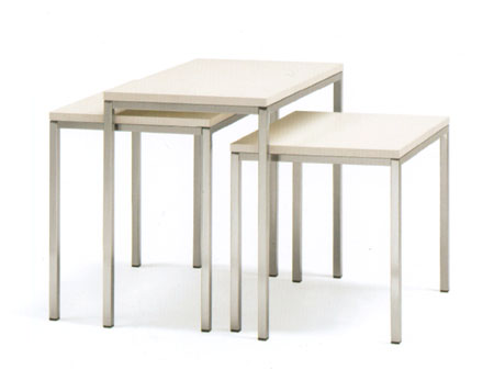 Set Pocket end table from Pedrali