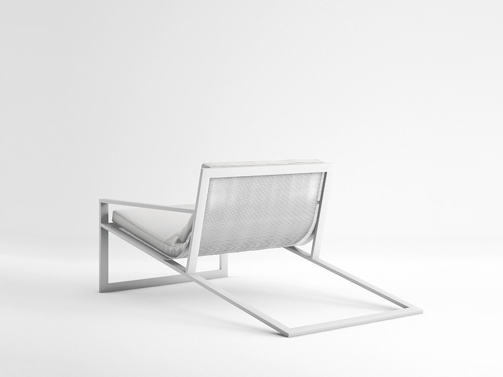 Blau Singular Lounge Chair from Gandia Blasco