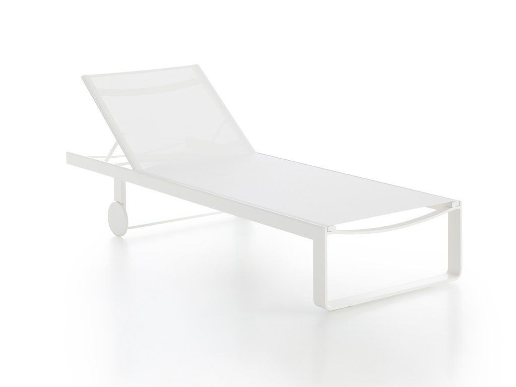 Flat Textil Chaise Longue lounger from Gandia Blasco, designed by Mario Ruiz