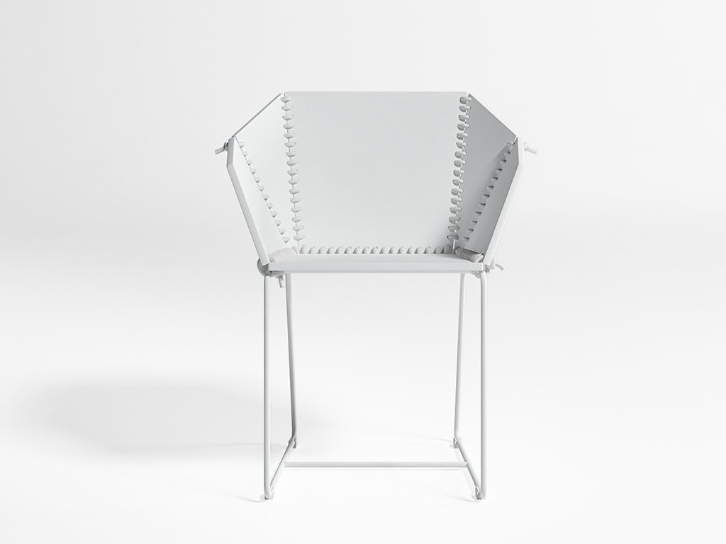Textile Dining Chair from Gandia Blasco