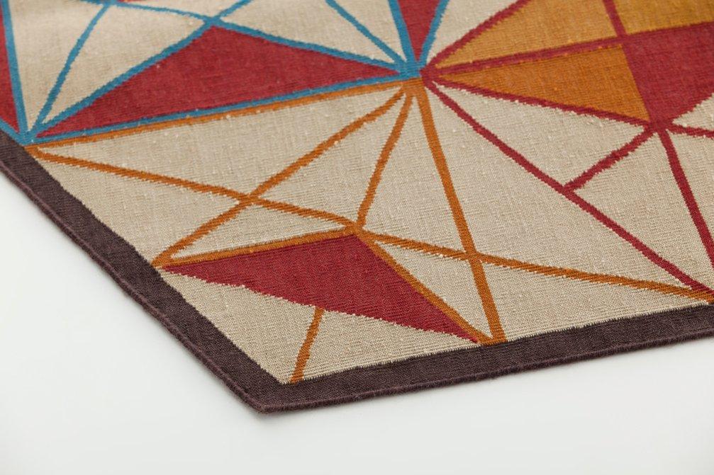 Kilim Hexa Rugs from Gan Rugs