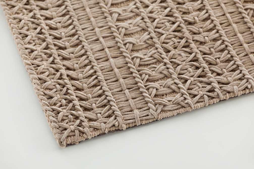 Felt Knotwork Rugs from Gan Rugs, designed by GAN Studio