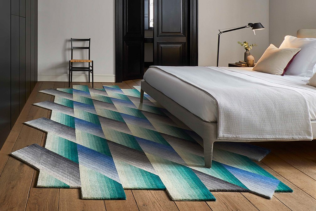 Hand Knotted Mirage Rugs from Gan Rugs, designed by Patricia Urquiola