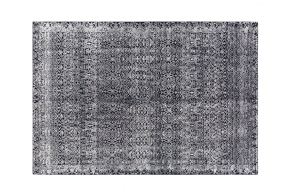 Hand Knotted Indigo Rugs from Gan Rugs, designed by GAN Studio