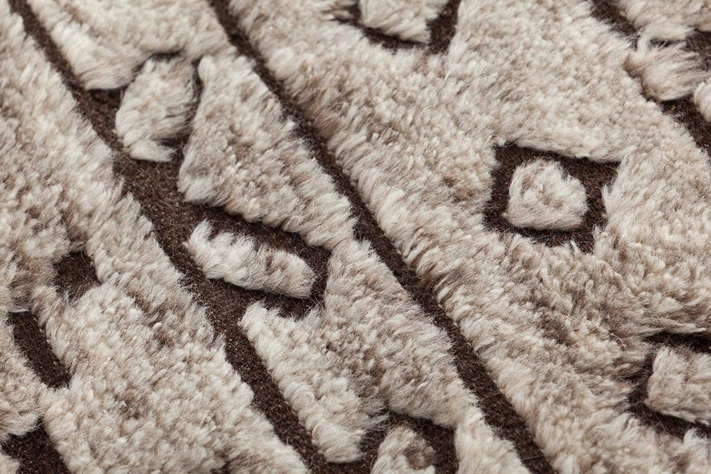 Hand Knotted Bereber Rugs from Gan Rugs, designed by GAN Studio