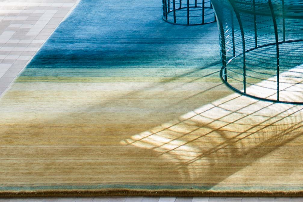 Hand Knotted Paysages Rugs from Gan Rugs, designed by Sebastien Cordoleani