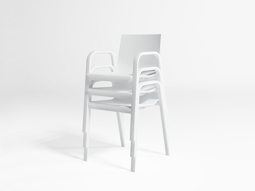 Stack Armchair Model 3 from Gandia Blasco