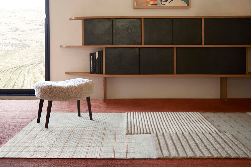 Spaces Lan Rugs from Gan Rugs, designed by Neri&Hu