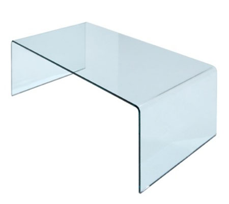 Curvo end table from Miniforms, designed by I. Bardini