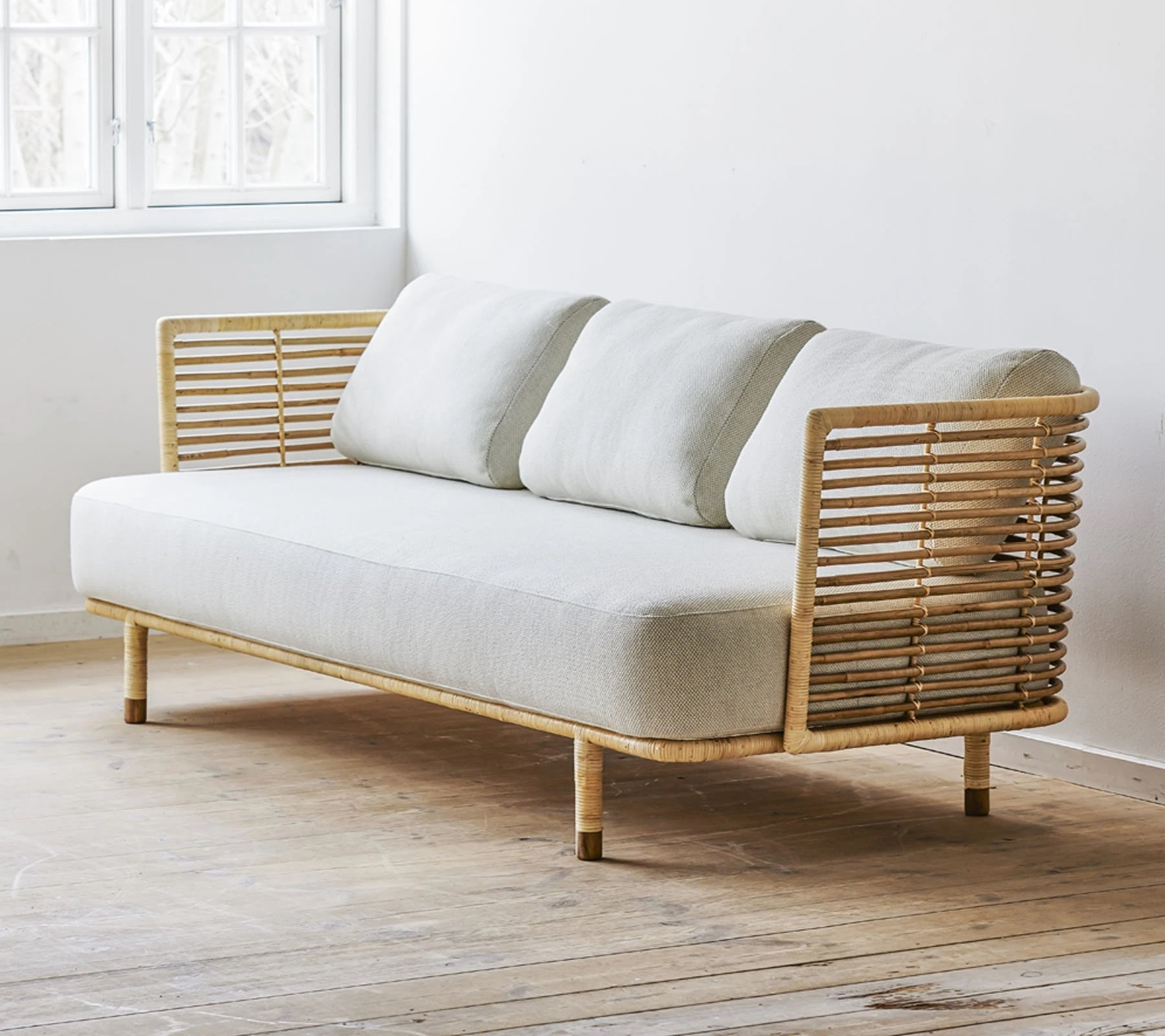 Sense 3-Seater Sofa from Cane-line, designed by Foersom & Hiort-Lorenzen MDD