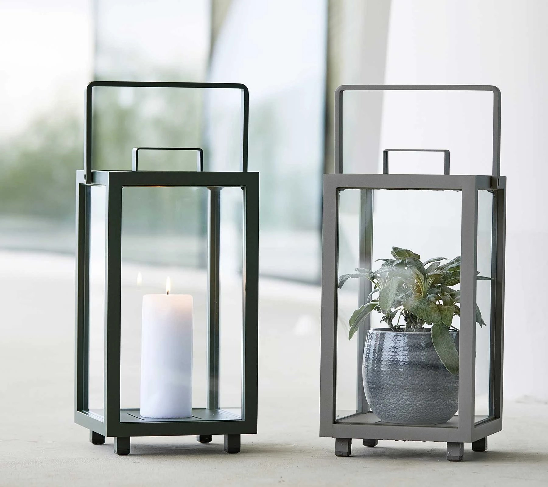 Lighthouse Lantern lighting from Cane-line, designed by Cane-line Design Team