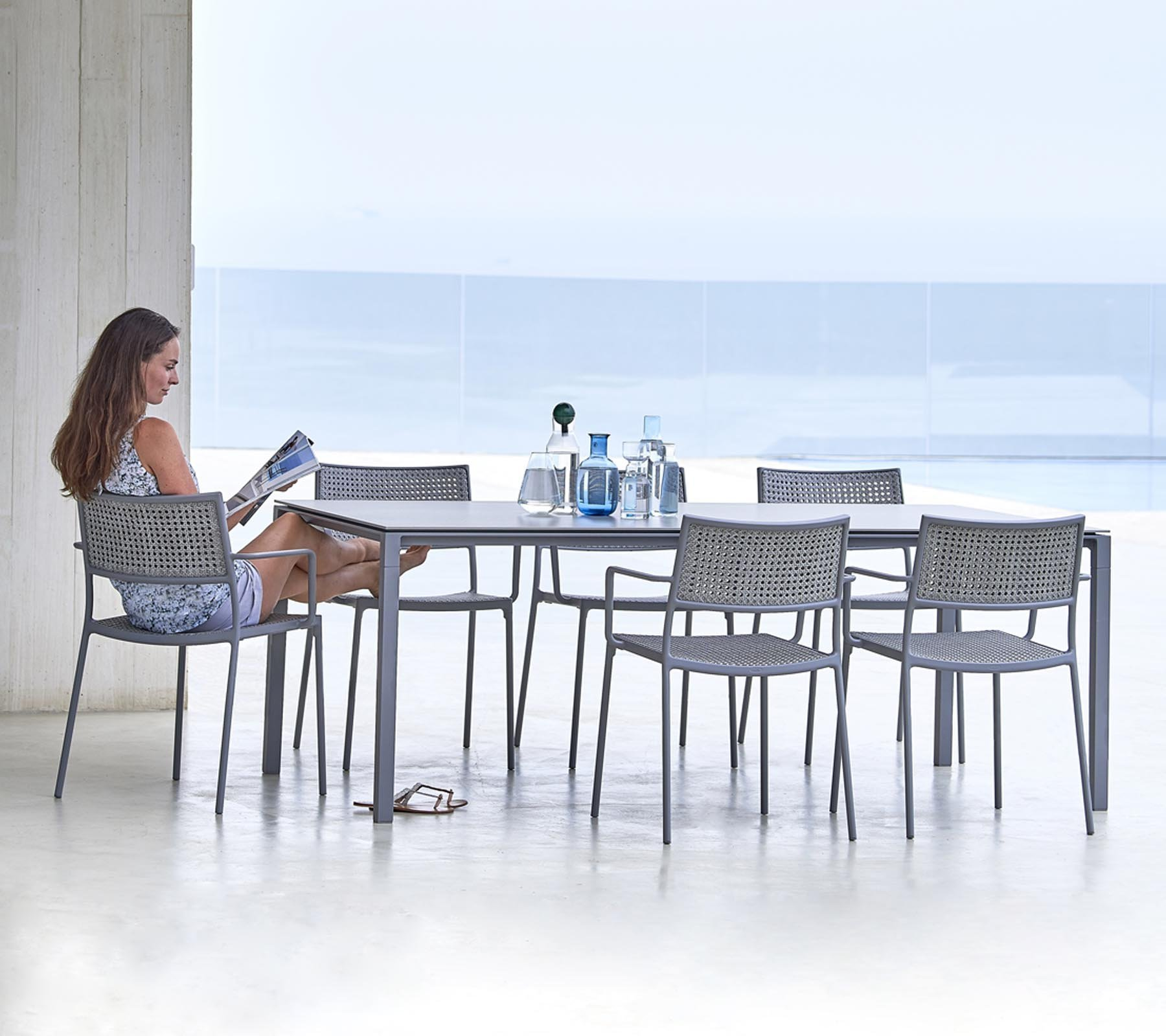 Less Dining Chair from Cane-line, designed by Welling/Ludvik