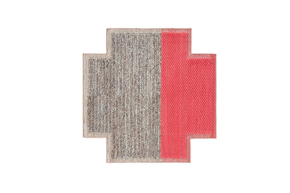 Spaces Mangas Space Square Rugs from Gan Rugs, designed by Patricia Urquiola