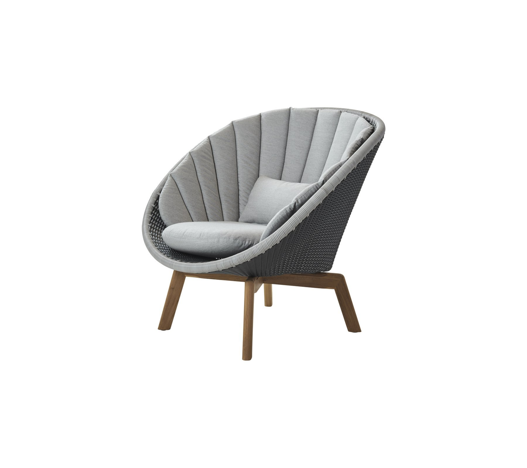 Peacock Lounge Chair from Cane-line, designed by Foersom & Hiort-Lorenzen MDD