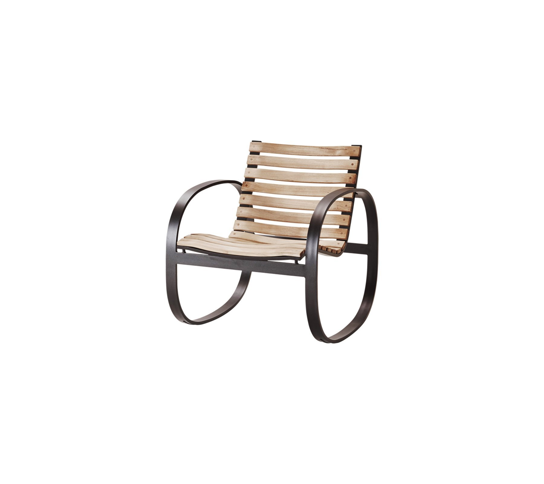 Parc Rocking Chair  from Cane-line, designed by Foersom & Hiort-Lorenzen MDD