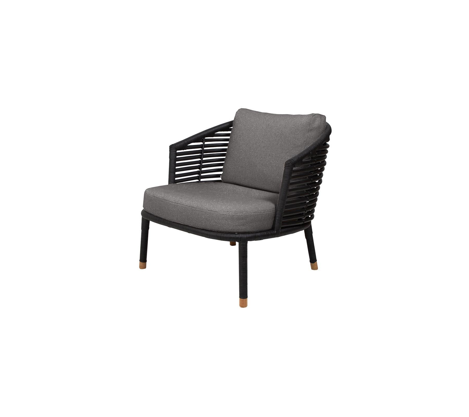 Sense Lounge Chair from Cane-line, designed by Foersom & Hiort-Lorenzen MDD