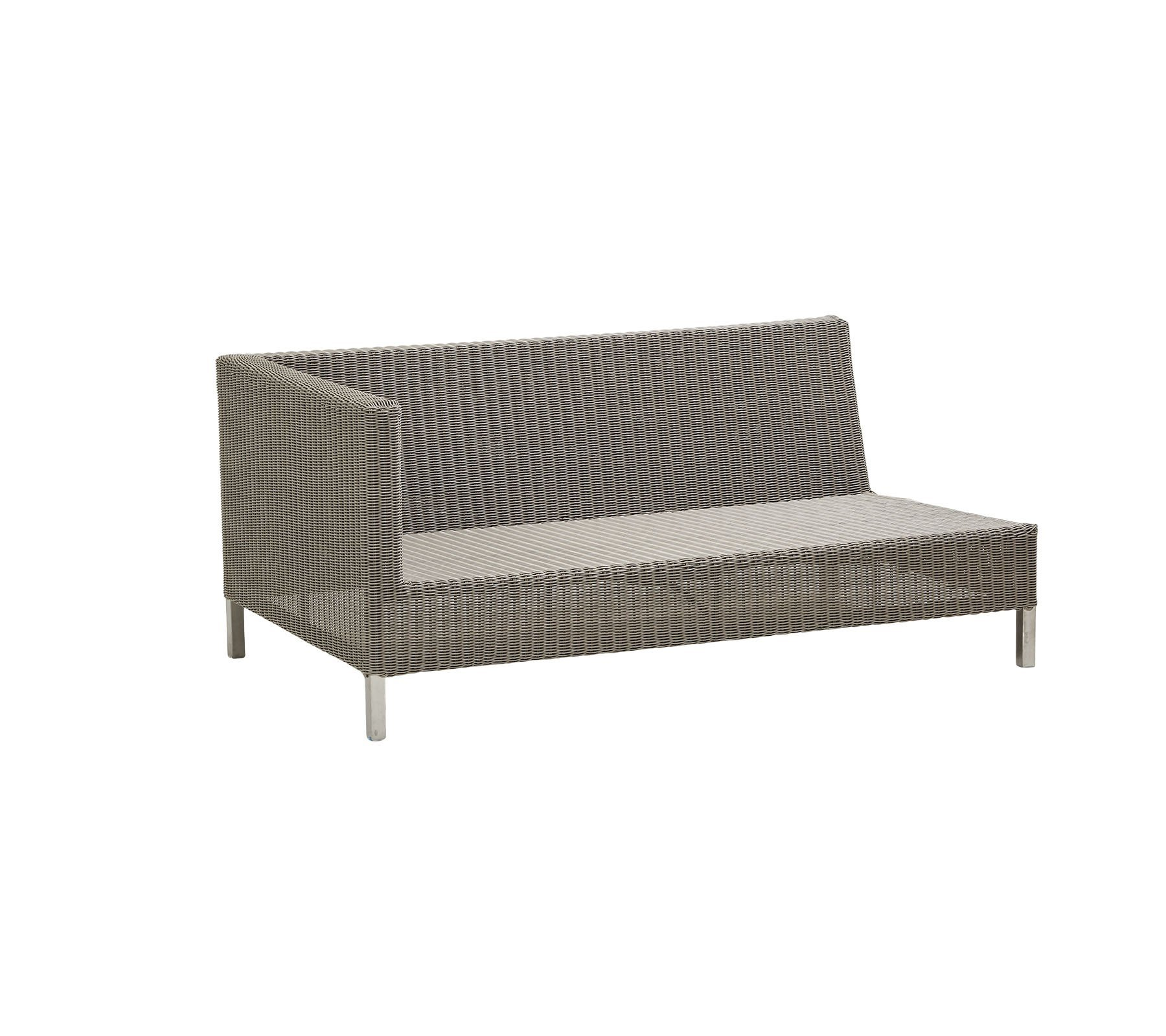 Connect 2 Seat Right Module Sofa modular from Cane-line