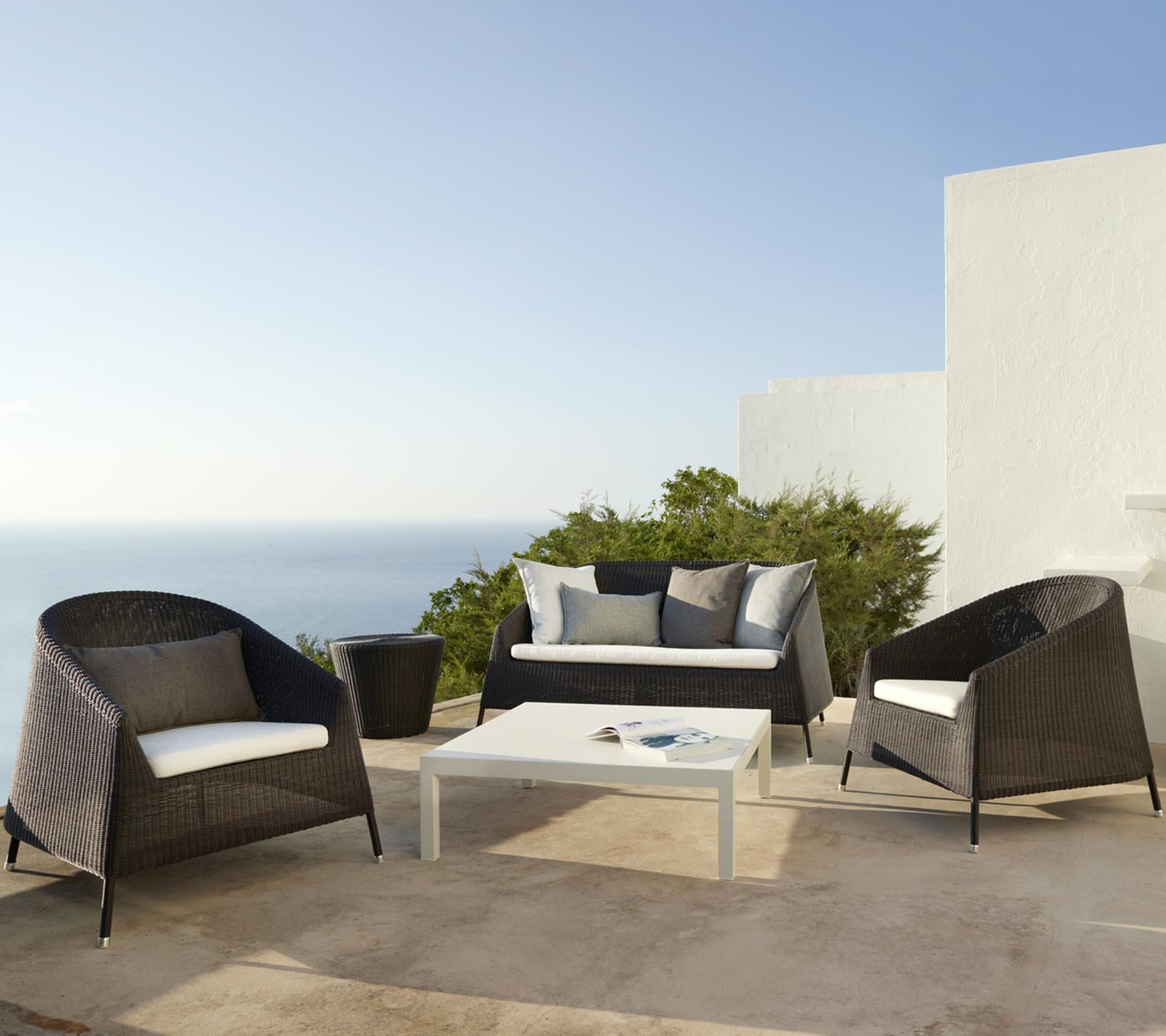 Kingston 2 Seat Sofa from Cane-line, designed by Foersom & Hiort-Lorenzen MDD