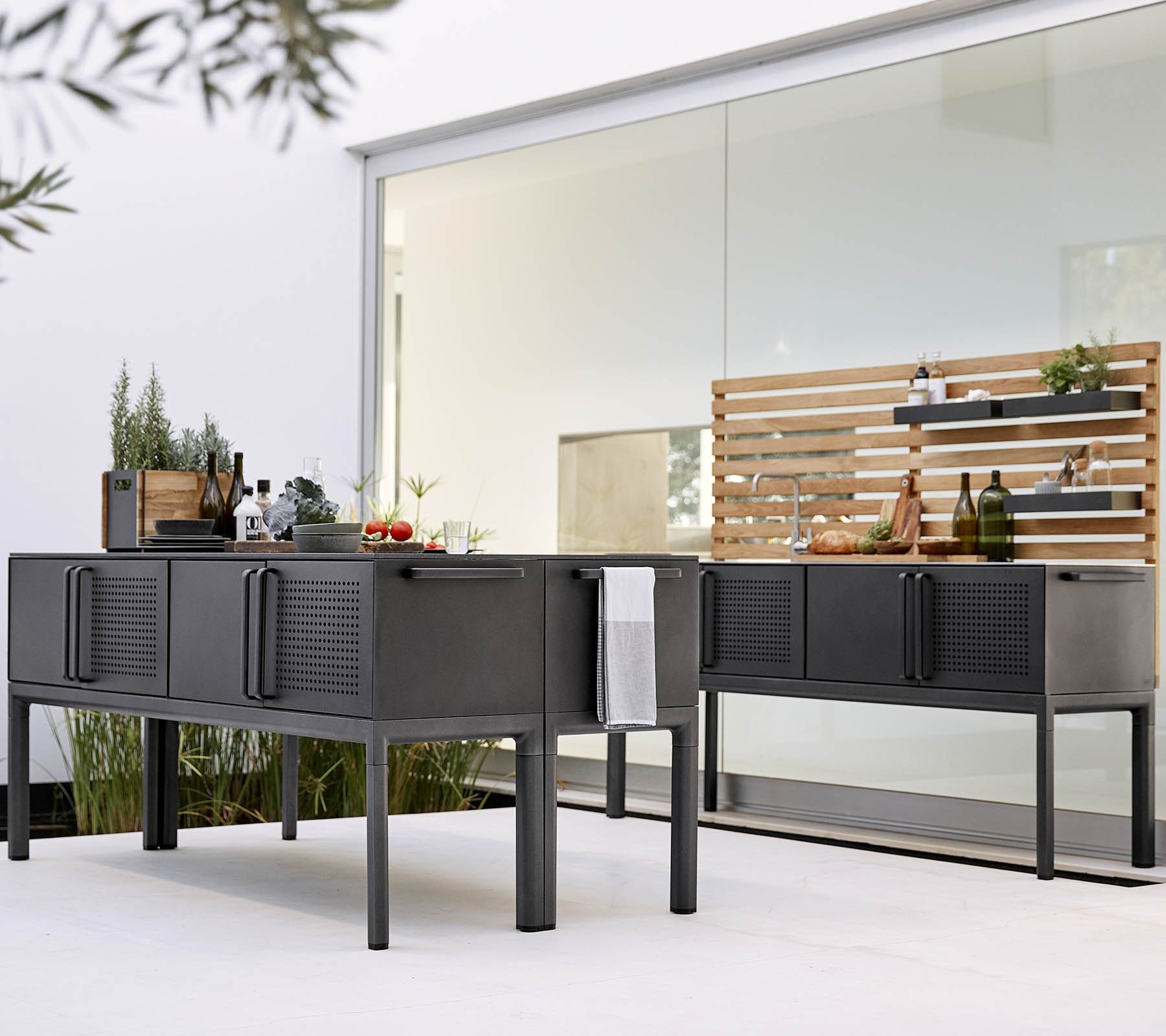 Drop Kitchen Module  from Cane-line, designed by Cane-line Design Team