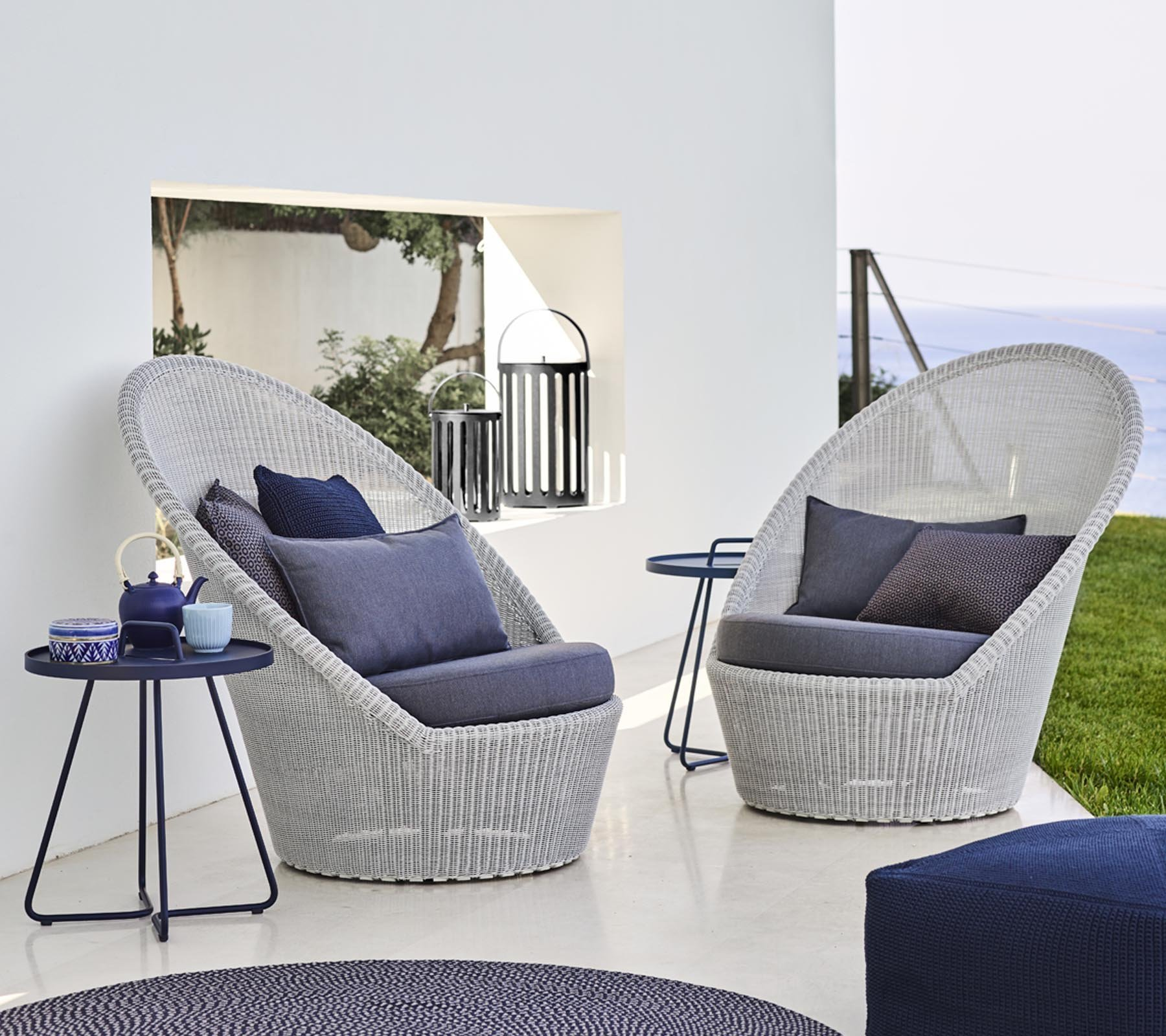 Kingston Sunchair lounge from Cane-line