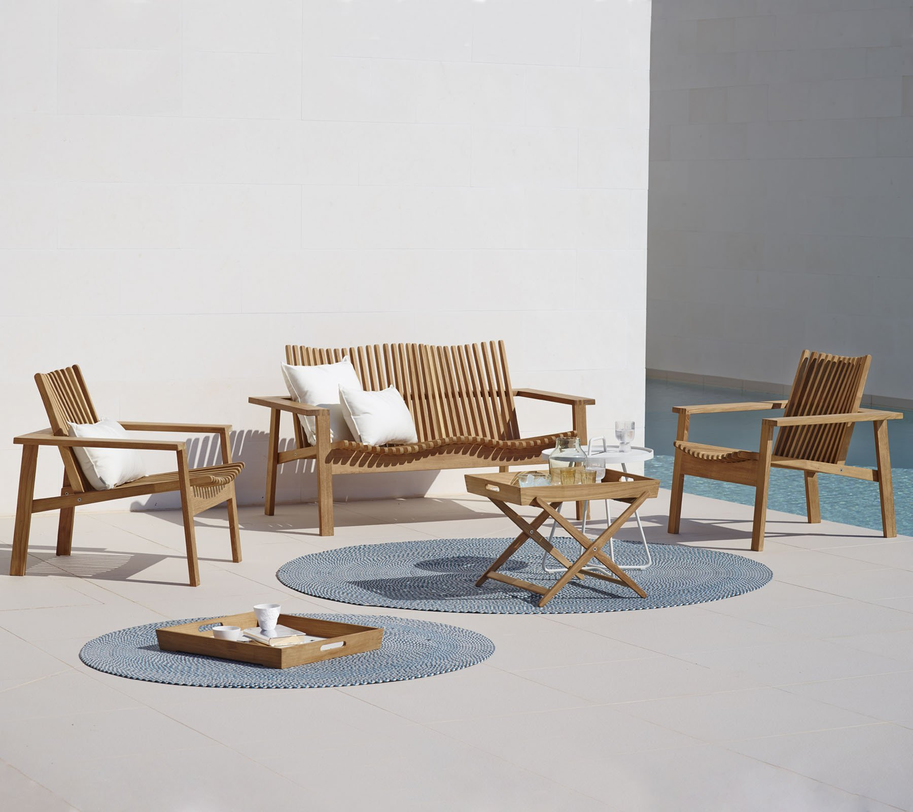 Amaze Lounge Chair from Cane-line, designed by Foersom & Hiort-Lorenzen MDD