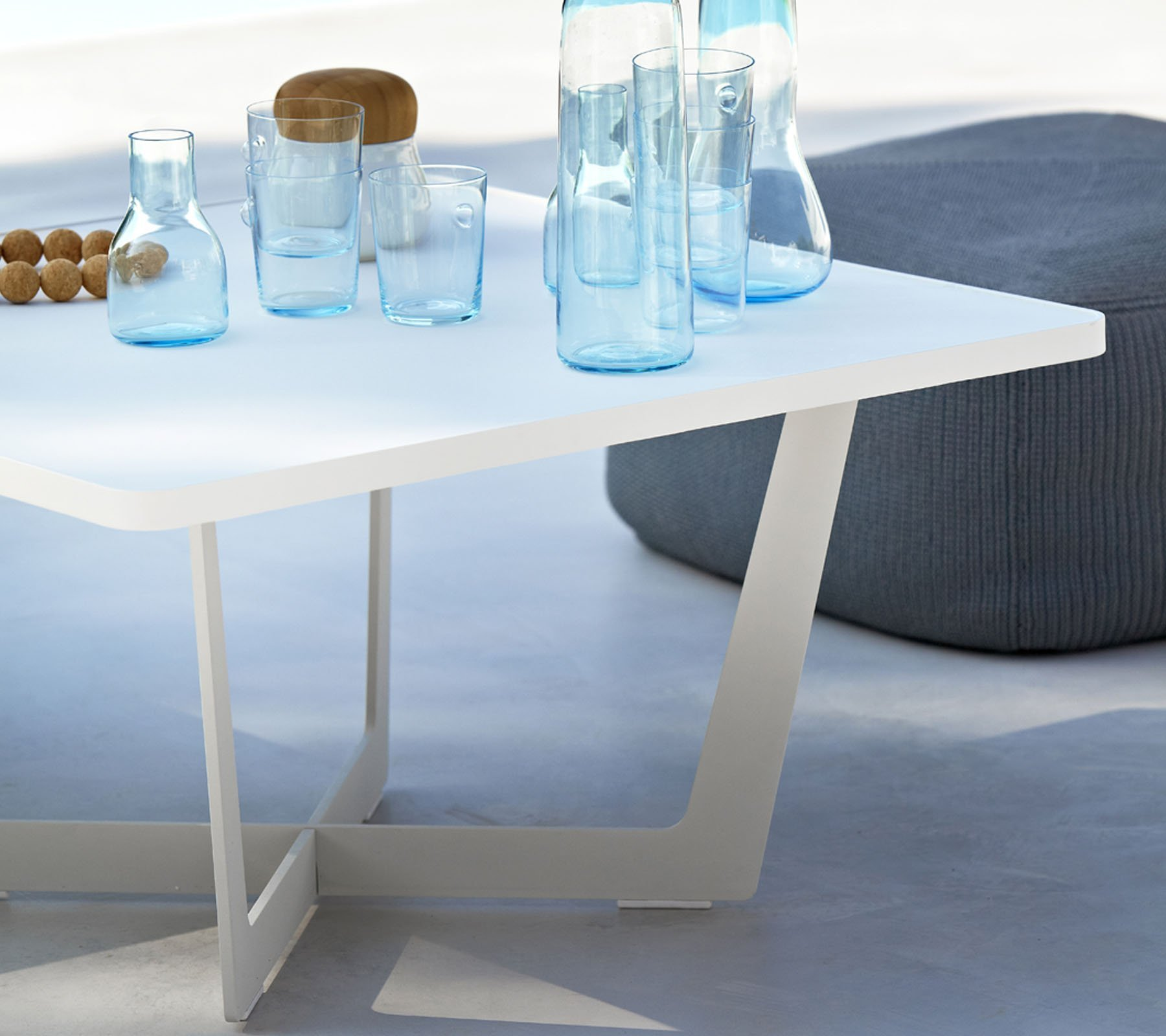 Time Out Coffee Table from Cane-line, designed by Strand+Hvass