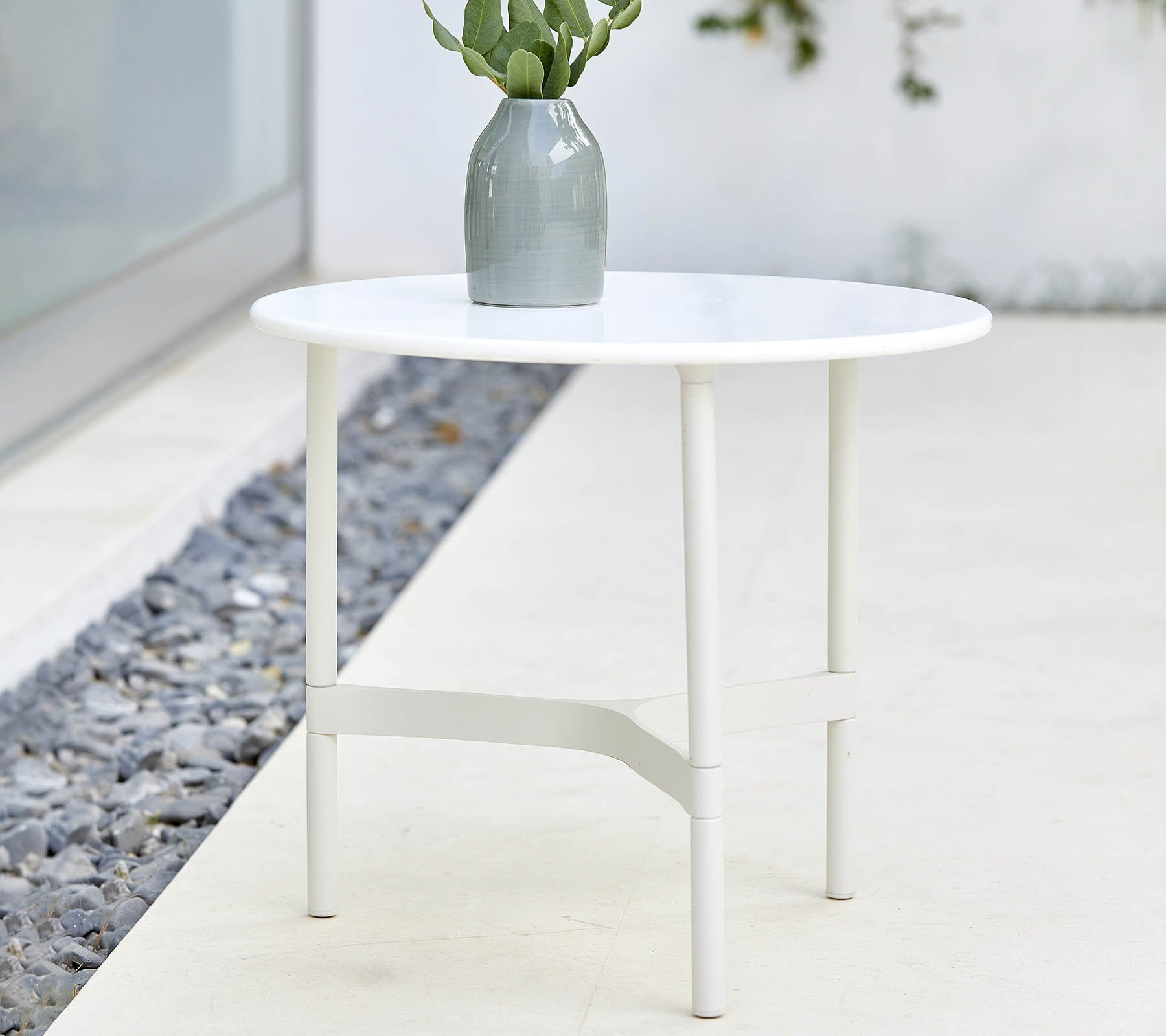 Twist Coffee Table from Cane-line, designed by byKATO