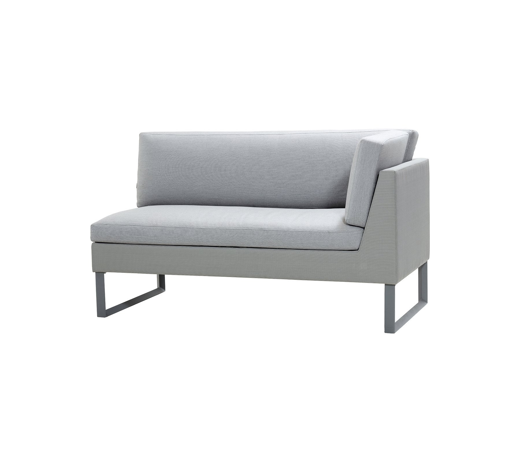 Flex 2 Seat Left Module Sofa modular from Cane-line