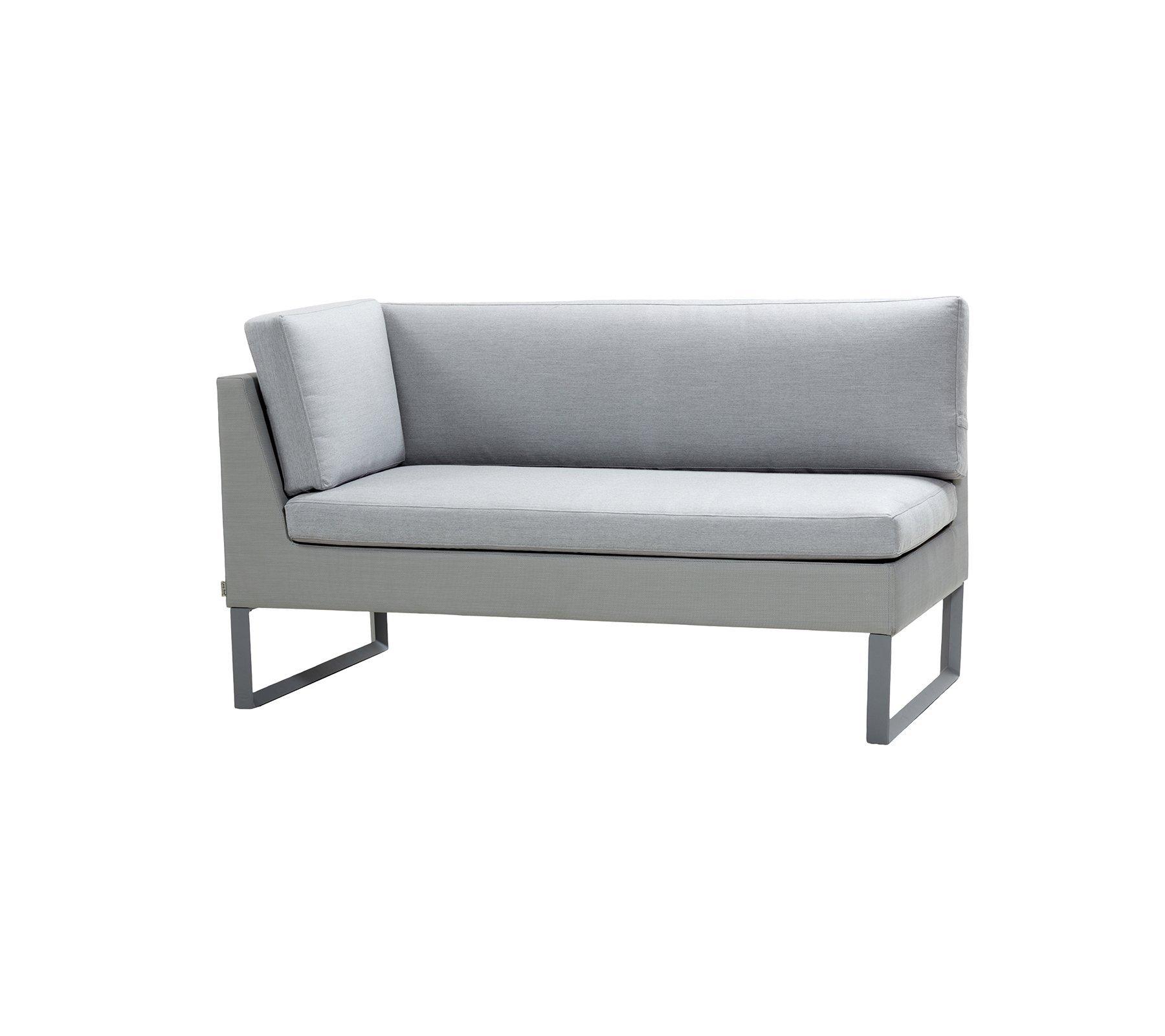 Flex 2 Seat Right Module Sofa modular from Cane-line