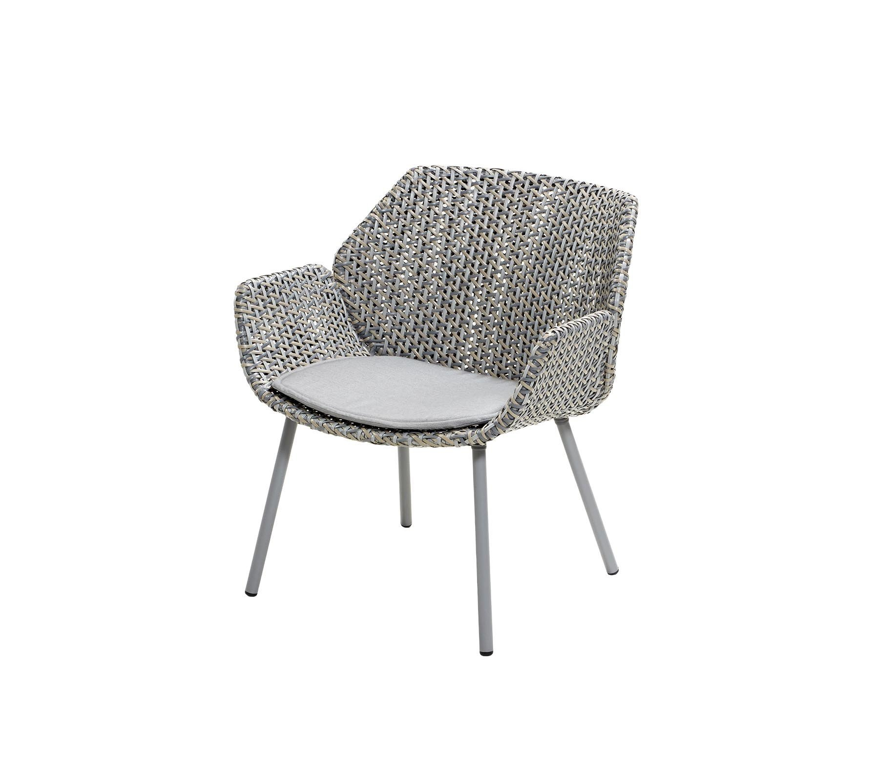 Vibe Chair lounge from Cane-line, designed by Welling/Ludvik