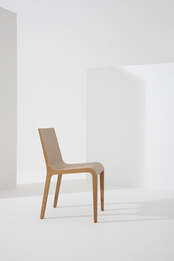 Foglia Dining Chair from Billiani, designed by Marco Ferreri