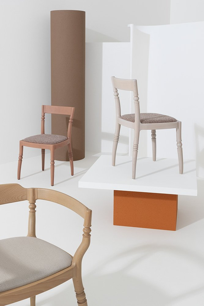 Toccata & Fuga Dining Chairs from Billiani