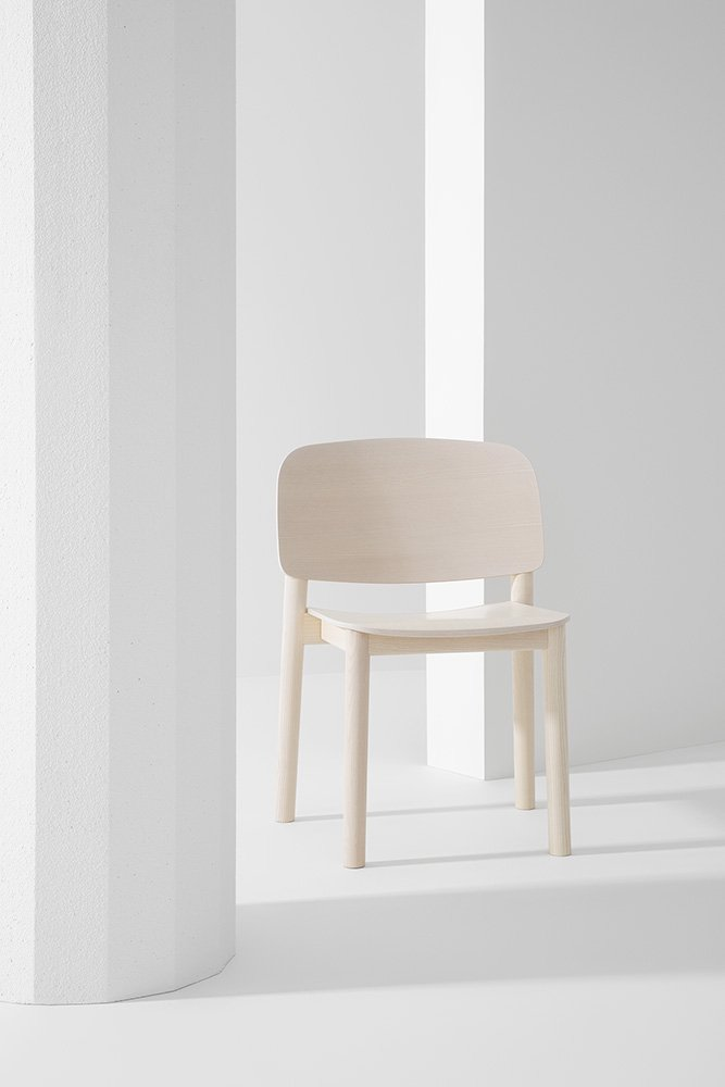 White Dining Chair from Billiani