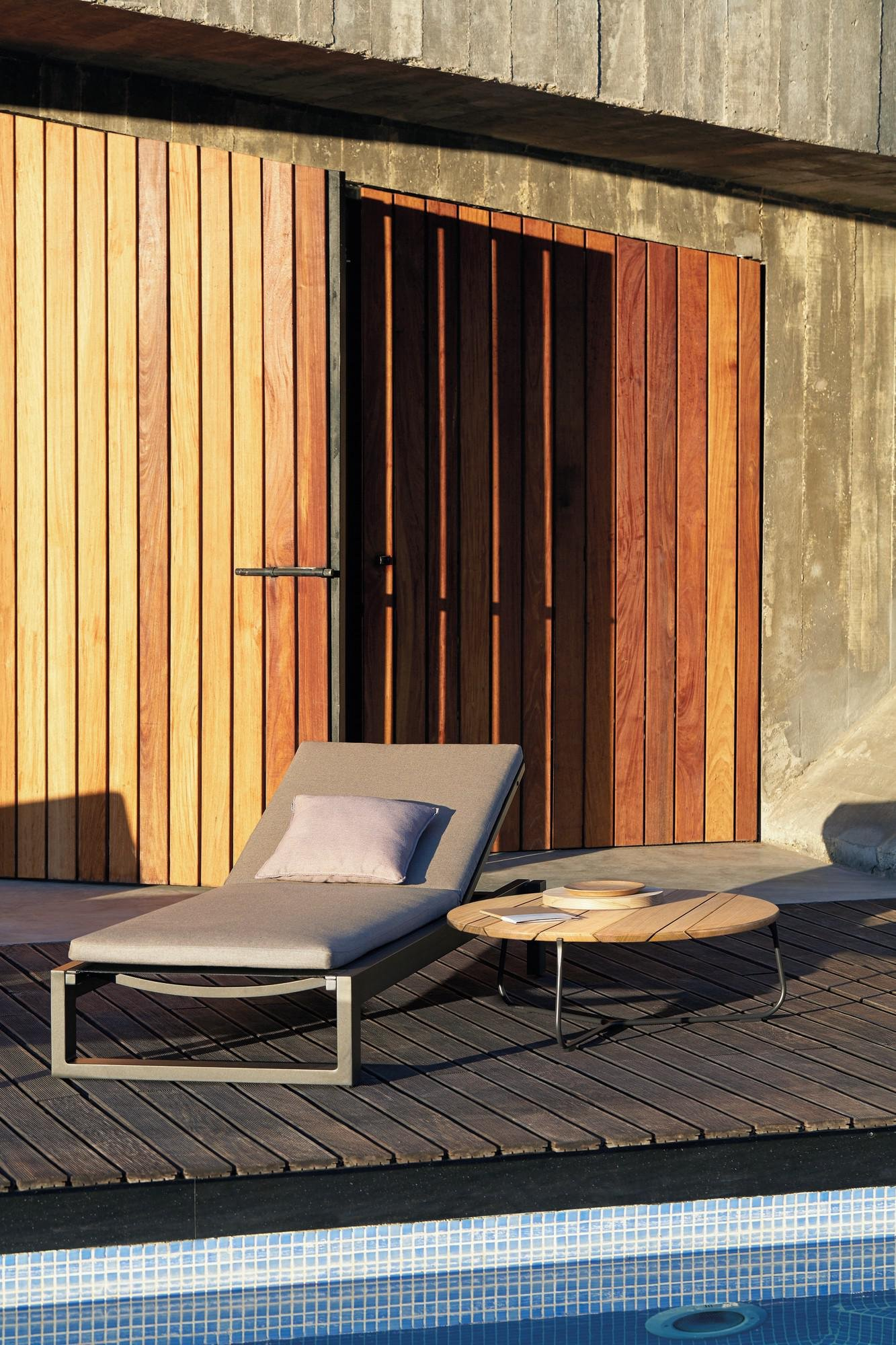 Fuse Lounger from Manutti, designed by Stephane De Winter