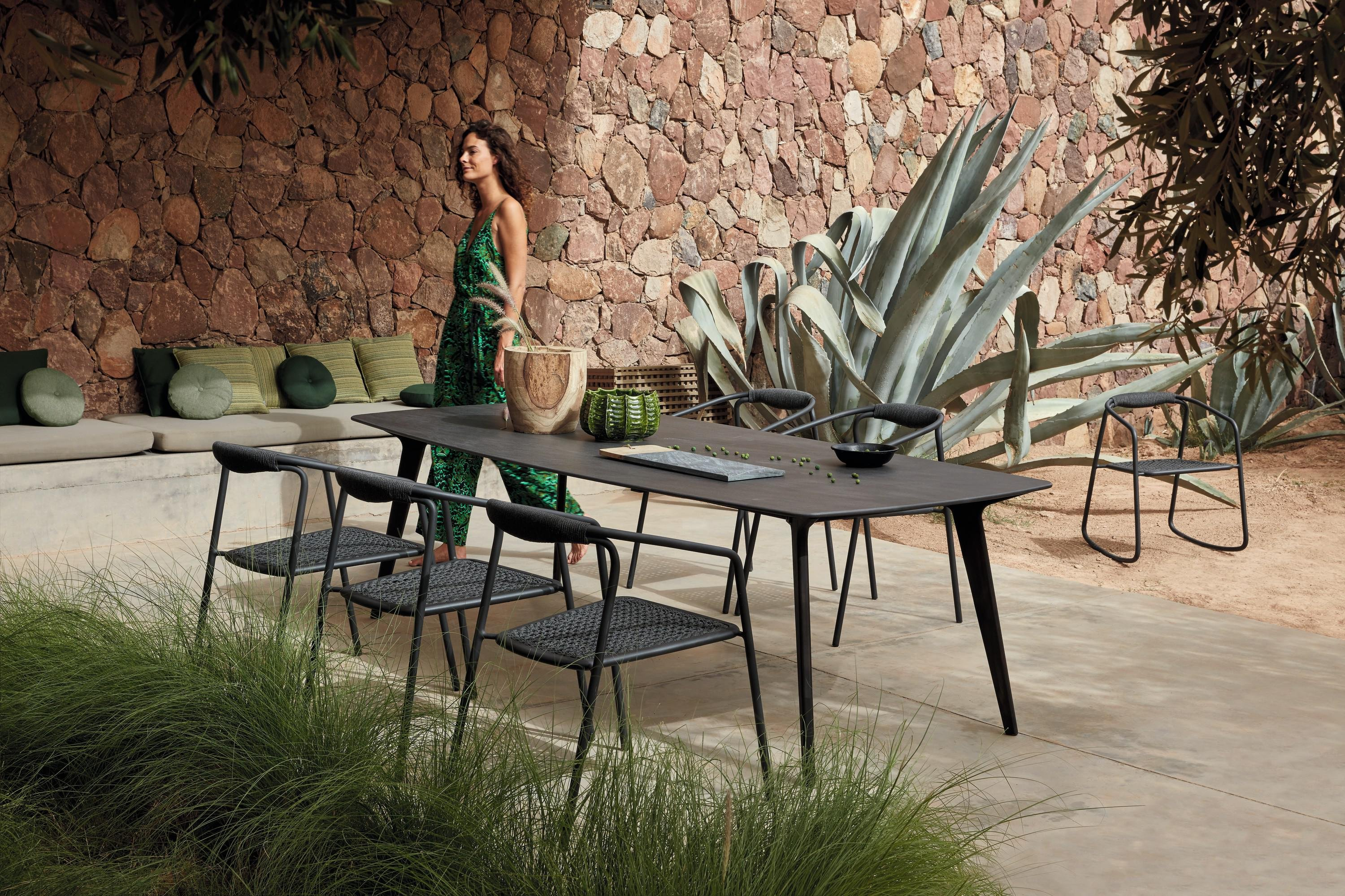 Torsa Dining Table from Manutti, designed by Stephane De Winter